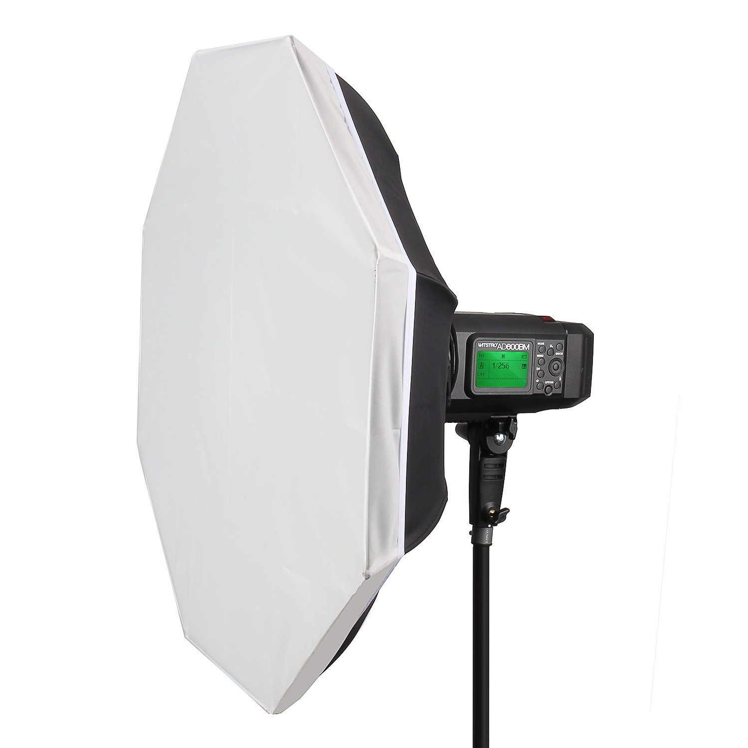 EACHSHOT 40 100CM Foldable Portable Folding Beauty Dish White Flash Diffuser Speedlight Softbox With Bowens Mount For Nikon