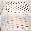 Baby bed mattress cover 1pcs 100% cotton 130x70cm baby bed sheet for baby girl boys crib sheets