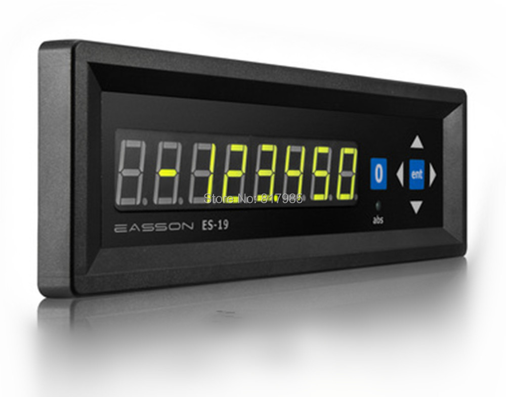 Easson Single axis ES-19 digital readout one axis display + unbrand linear encoder 5um linear scale