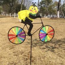 Keythemeli F e животных Велоспорт Форма Творческий Многоцветный ветра счетчик Юла сад ткани мельница F или декор сада F