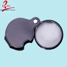 Folding Portable Lederen Lens