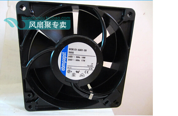 все цены на Germany ebmpapst 12.7cm 12738 W2K121-AA01-39 230V 18/17W127 x 127 x 38mm cooling fan