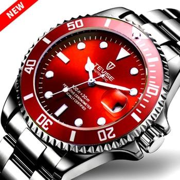 New TEVISE Watches Men Automatic Mechanical Watch Men Luxury saat Male Clock Luminous Calendar Watches for Men Relogio Masculino цена 2017