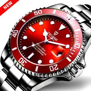 New TEVISE Watches Men Automat