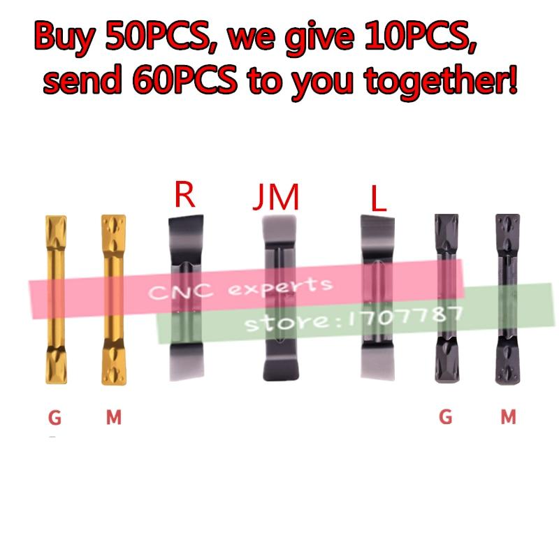 10pcs Carbide Inserts MGMN150 MGMN200 MGMN250 MGMN300 MGMN400 MGMN500-JM/R/L/G/M Insert Grooving Blade Cnc Lathe Cutter