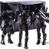 NECA Pacific Rim Jager Toys End Titles Black Variant PVC Action Figure Collectible Model Toy 3 pack