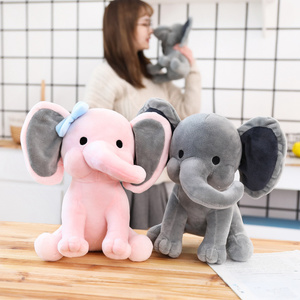Image 4 - 25cm Bedtime Originals Choo Choo Express Plush Toys Elephant Humphrey Soft Stuffed Plush Animal Doll for Kids Birthday Gift