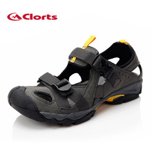 2017 Clorts Mens Sports Sandals Outdoor Summer Beach Shoes Quick Dry Aqua Shoes Microfiber For Men Free Shipping SD-206/207