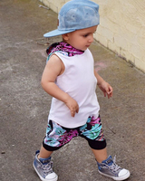 2017 Summer Hooded Clothing Sleeveless Baby Boy Summer Hooded Jacket Pants Bird Shorts 2