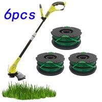 Grass Trimmer Dual Line Head M10*1 25 For Echo Husqvarna Brushcutter String  Bump Feed Loading