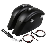 Motorcycle Saddlebag Electronic Latch Audio Lid For Indian Chieftain Dark Horse Classic Springfield Elite Limited
