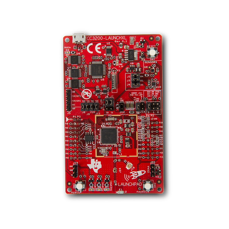 CC3200 SimpleLink Wi-Fi & loT Solution with MCU LaunchPad Hardware все цены