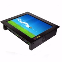 High Quality XP Win7 Linux Win8 Industrial Panel PC Fanless Wide Pressure Industrial Tablet PC PPC