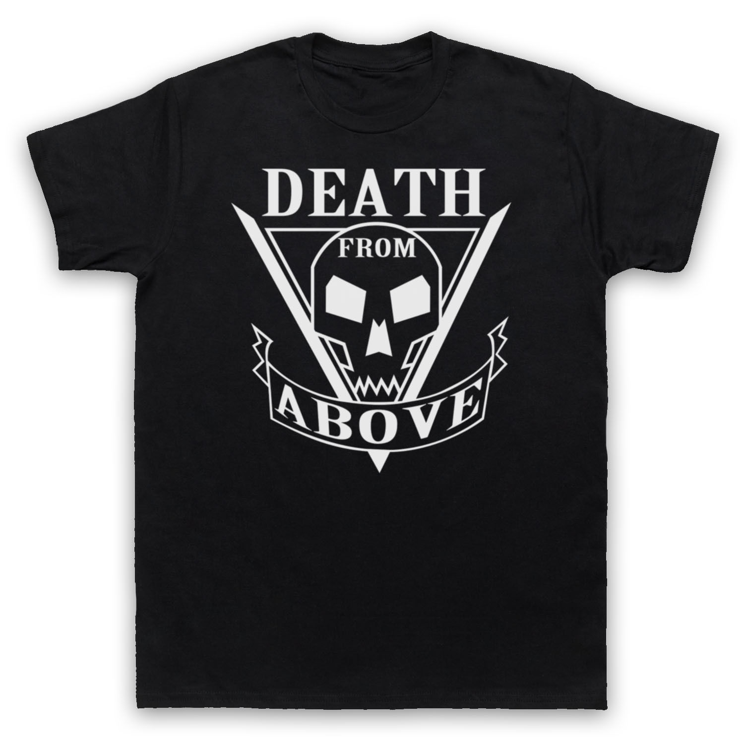 STARSHIP TROOPERS UNOFFICIAL DEATH FROM ABOVE T-SHIRT MENS LADIES KIDS SIZES COL