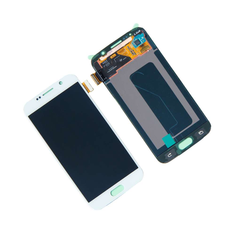Touch Screen Digitizer Panel LCD Display For Samsung Galaxy S6 SM-G920A G920T G920V G9 Assembly  Panel Repair Parts lcd assembly for samsung galaxy tab a 9 7 sm t550 t550n t555 panel lcd combo display with touch screen digitizer glass