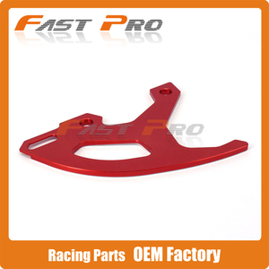 CNC красная заготовка защита заднего тормозного диска защита для Honda CR125R CR250R CRF250R CRF450R CRF450RX CRF250X Dirt Bike