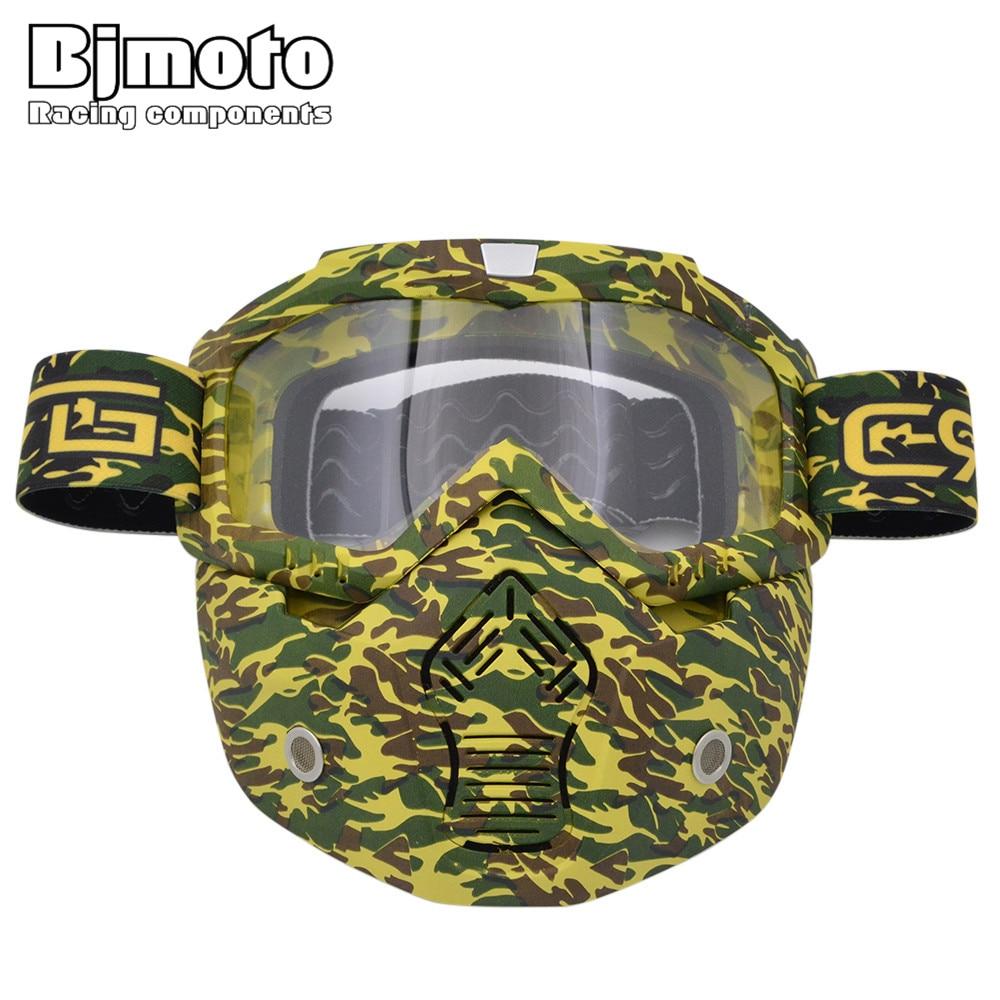 BJ Global gafas de esqu/í snowboard gafas de deportes al aire libre Motocross cara completa protecci/ón Safty Gafas Cara Transparente Gafas