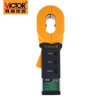 VC6412+ Digital Clamp on Ground Resistance Tester Megger Ohm Clamp Earth Resistance Meter lightning rod measuring instrument