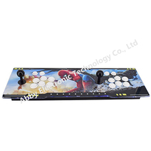 The latest design arcade double rocker game controller with Pandoras Box 9D multi board ,2222 in 1