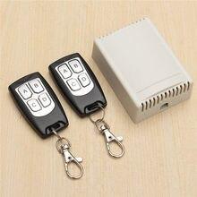 Alta Calidad 12 V 3A 4CH 200 M Interruptor de Relé de Control Remoto Inalámbrico Con Receptor 2 Receptor Compatible Con 2262 2260 1527