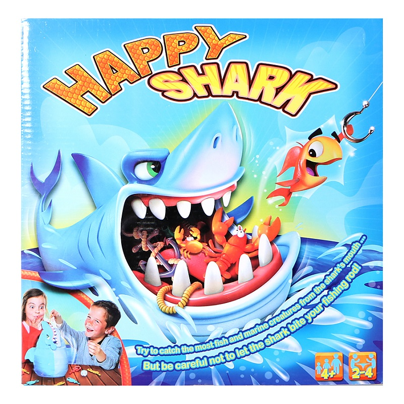 Fun Thrilling Biting Great White Shark Game Care Shark Desktop Game Educational Toys Family Party Game For Ages 4 And Up