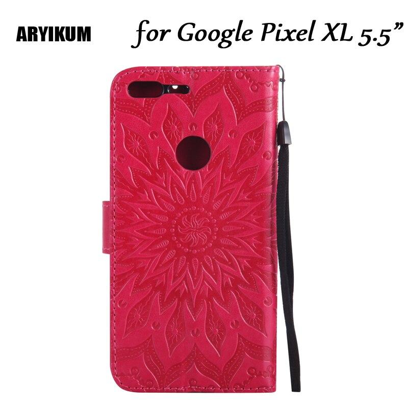 Aryikum Защита от солнца цветок Телефонные Чехлы для Google <font><b>Pixel</b></font> <font><b>XL</b></font> чехол кожаный бумажник флип чехол для Google <font><b>Pixel</b></font> <font><b>XL</b></font> 5.5 дюйма телефон сумка