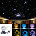 Набор для потолочного светильника  оптическое волокно  4 скорости  32 Вт  RGB  550 нитей (0 75 + 1 + 2 + 3 мм)  2 м  оптическое волокно + 28Key