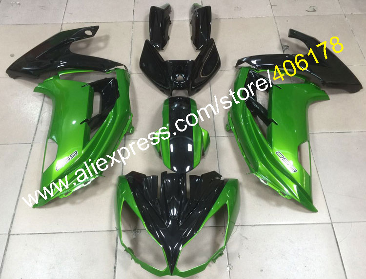 Hot Sales,For Kawasaki Ninja 650R ER6F ER 6F 2012 2013 2014 2015 ER-6F 650R Road ABS Motorbike Fairing Kit (Injection molding)