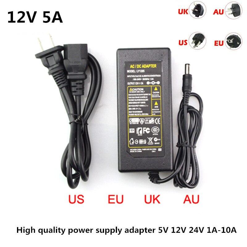 LED Free send plug DC 5V 12V 24V to Strip Light Pows