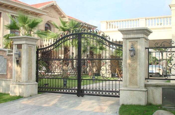 Metal Gates Driveway Gates Wrought Iron Gates Forged Iron Gates Hench-7