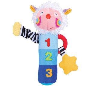 Кэндис го! детские игрушки милые овцы плюшевые колокольчик руки палку с BB приборной 1 шт.