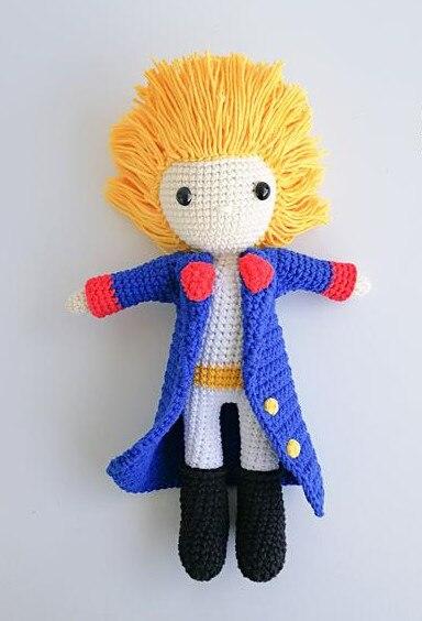 Crochet Armigurumi Rattle  Princes Boy   Model Number  864