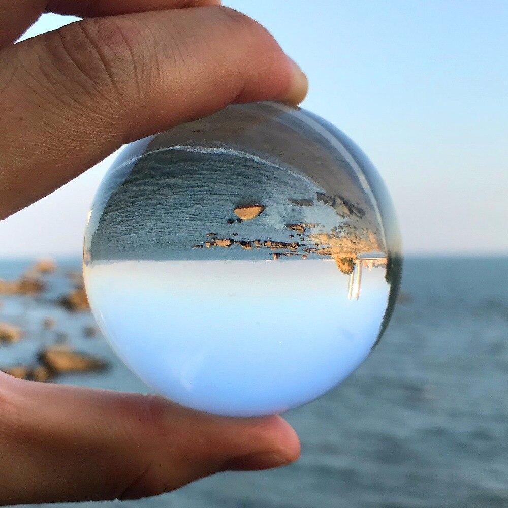 60mm Rare cristallo della sfera Della Sfera di cristallo sfere di vetro per la vendita fengshui sfera per la decorazione domestica