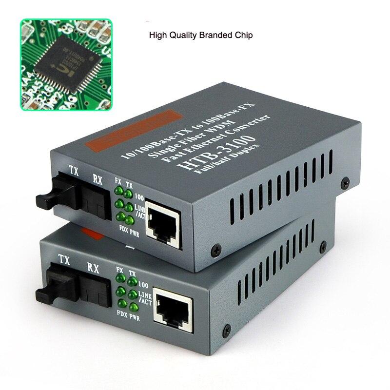 ที่มีคุณภาพสูง10/100 Mbps Ethernetเพื่อไฟเบอร์ออปติกสื่อแปลงสำหรับกล้องIP,โหมดเดียวSinlgeไฟเบอร์,ทำงานระยะทาง25กิโลเมตร-ใน อุปกรณ์ไฟเบอร์ออปติก จาก โทรศัพท์มือถือและการสื่อสารระยะไกล บน AliExpress - 11.11_สิบเอ็ด สิบเอ็ดวันคนโสด 1