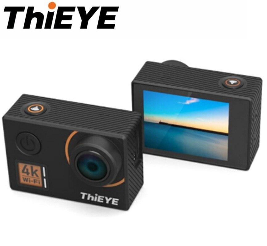 ThiEYE T5 край родной Экшн-камера 4k WIFI Cam 1080P HD спортивные Камера Дайвинг Подводные Водонепроницаемый открытый голос удаленного Управление