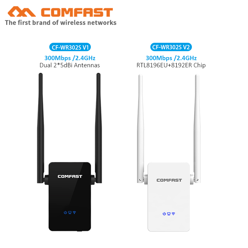 Dual 5dBi Antennas Wireless WIFI Router Wifi Repeater 300Mbps Wi Fi Signal Amplifier 802.11N/B/G Roteador Wi-fi Rang Extender