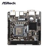 Материнская плата Asrock B75M ITX рабочего Материнская плата B75 разъем LGA 1155 i3 i5 i7 DDR3 16 г USB3.0 Mini ITX