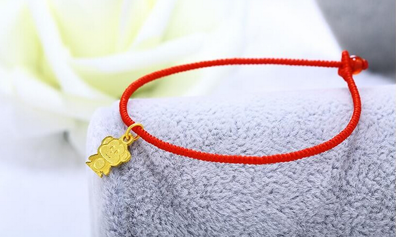 Hot sale   New Arrival 999 24K Yellow Gold Monkey knitted BraceletHot sale   New Arrival 999 24K Yellow Gold Monkey knitted Bracelet
