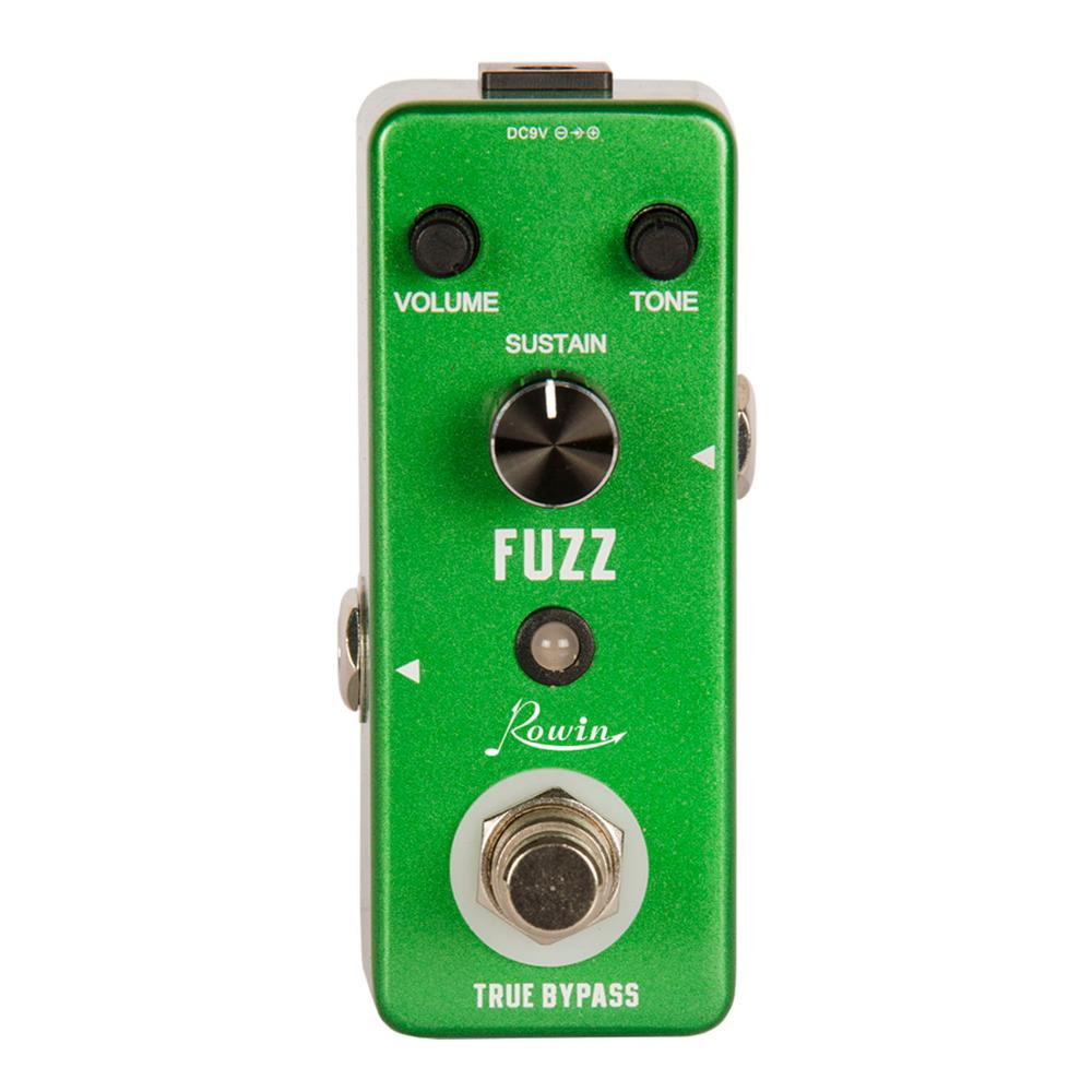 Rowin LEF-306 Guitar Fuzz pedal Traditional Fuzz effect,plump and rich image