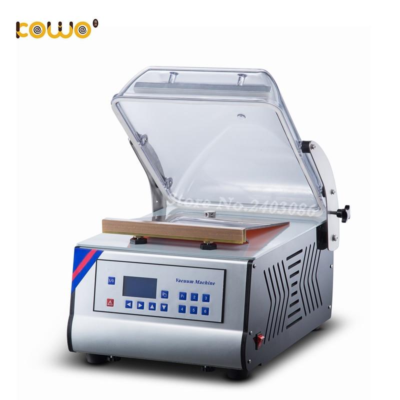 Machine à emballer de vide de viande végétale de Machine de cachetage de vide de chambre simple à vendre