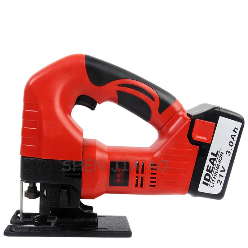 Lithium electric curve saw DIY cutting woodworking curve wood saw household woodworking tools 21V - 2