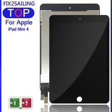 Для iPad Mini 4 A1538 A1550 Новый ЖК-дисплей сенсорный экран панель сборка Замена для ЖК Digitzer EMC 2815 EMC 2824 + наклейка