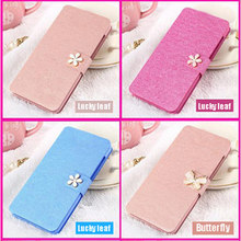 New Arrival Mobile Phone Bags For Apple iPhone 5C Flip Cellphone Cover With Card Slot Stand