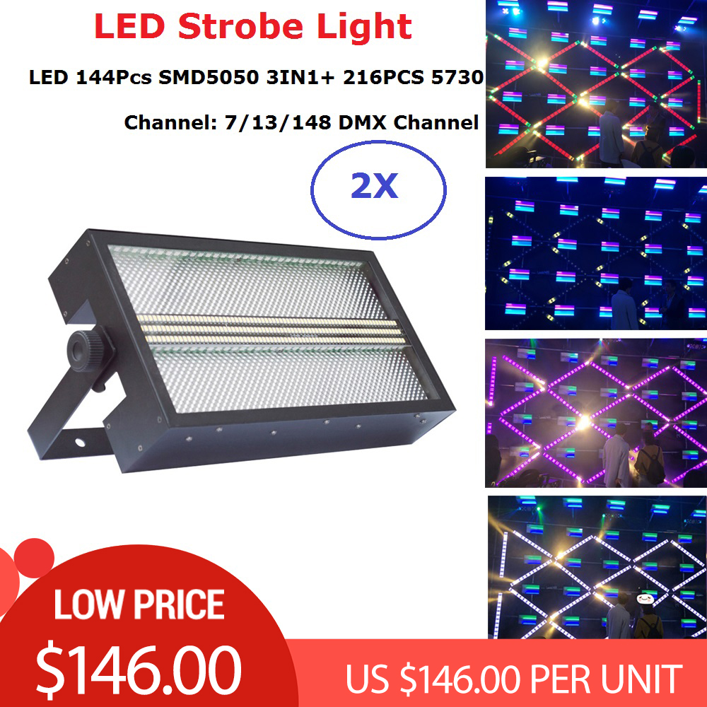 Dj Decorations 144Pcs SMD 5050 RGB 3IN1 LED Strobe Light DMX 512 Control With 216PCS 5730 LED Flash Light Wedding Club LightingDj Decorations 144Pcs SMD 5050 RGB 3IN1 LED Strobe Light DMX 512 Control With 216PCS 5730 LED Flash Light Wedding Club Lighting
