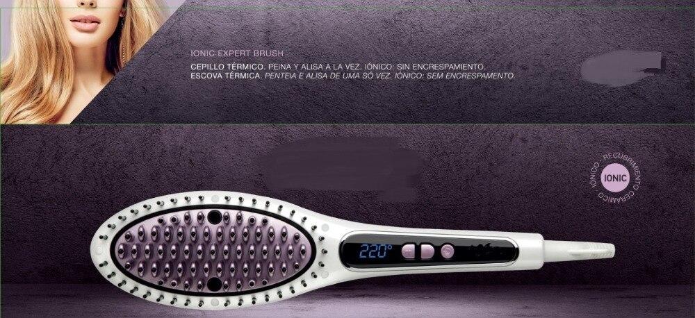 Ionic expert hair  brush straightening Anion comb