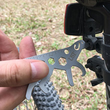 Dog Shape Titanium-Plated Multifunction Bicycle Wrench