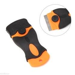 Бесплатная доставка с пластиковой ручкой для бритья, скребок для керамической стеклянной печи, инструмент для тонировки окон 1,57 Blade-B119