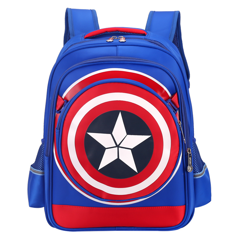 Captian America Children School Bags Mochilas Kids Sac a dos For boys backpack wholesale bolsa infant Backpack Ryugak Satchel футболка wearcraft premium slim fit printio nissan skyline r34