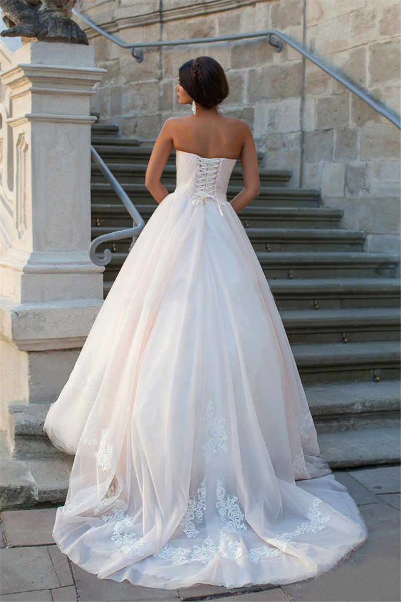 Sweetheart Tulle Satin Empire Waist Plus Size Maternity Wedding ...