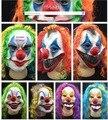 Scary Máscara de Payaso Joker hombres Día Horror Divertido Mujeres Del Partido de Cara Completa Máscara Para niños Fiesta de Halloween Del Traje de Mascarada suministros